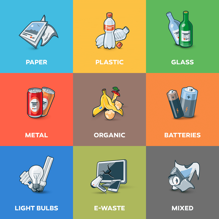 recycle declutter professional organising