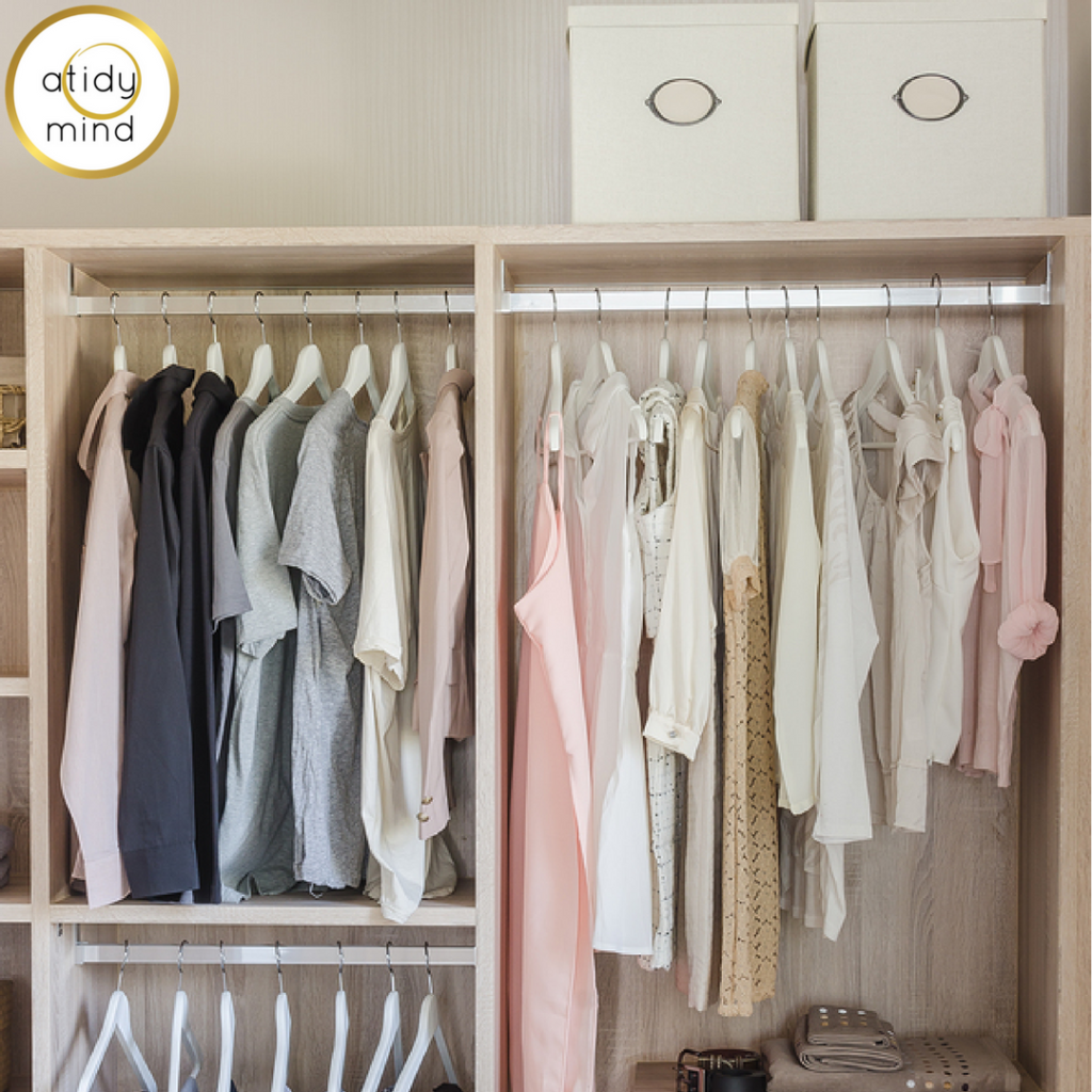 How to organise your wardrobe