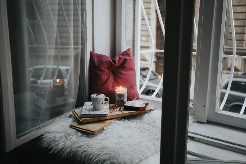 self care and decluttering
