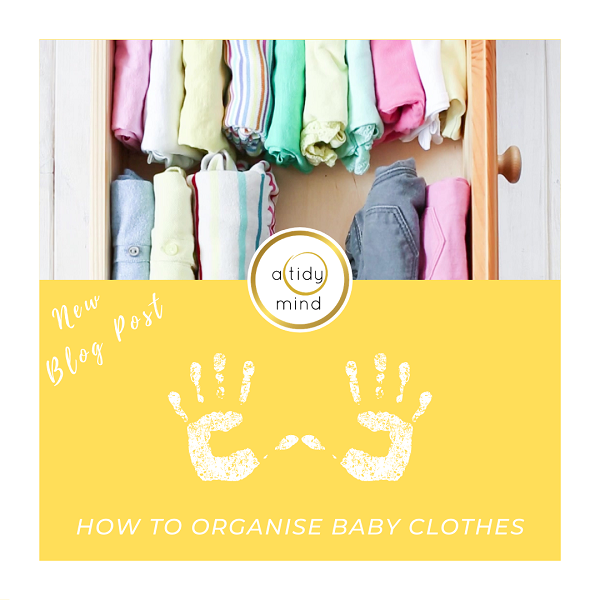 how to organise baby clothes
