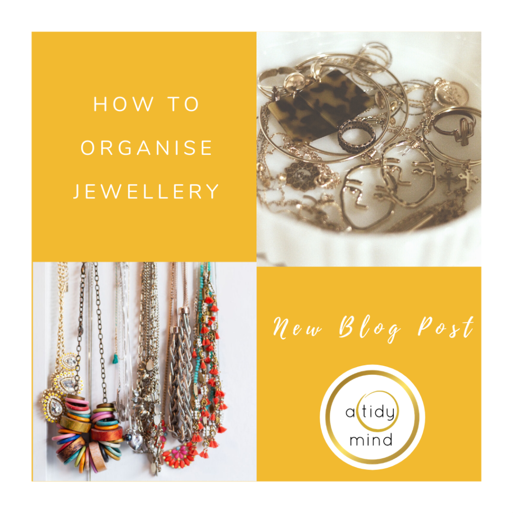 how to organise jewellery